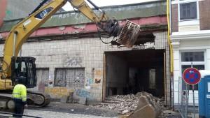 Der Abriss des ehemaligen Rialto-Kinos beginnt