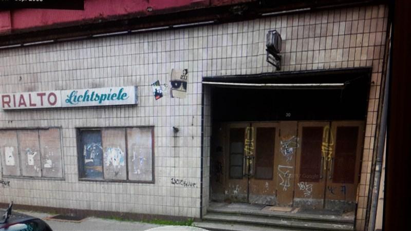 Das Rialto-Kino kurz vor dem Abriss